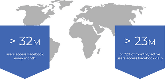Facebook Recruiting Map