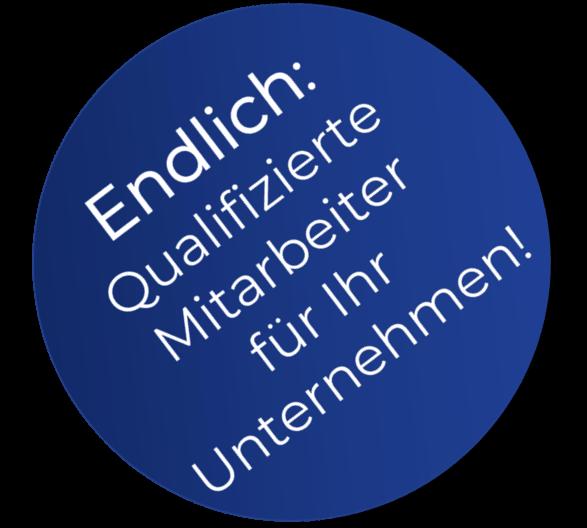 Badge - Endlich qualifizierte Mitarbeiter für Ihr Unternehmen